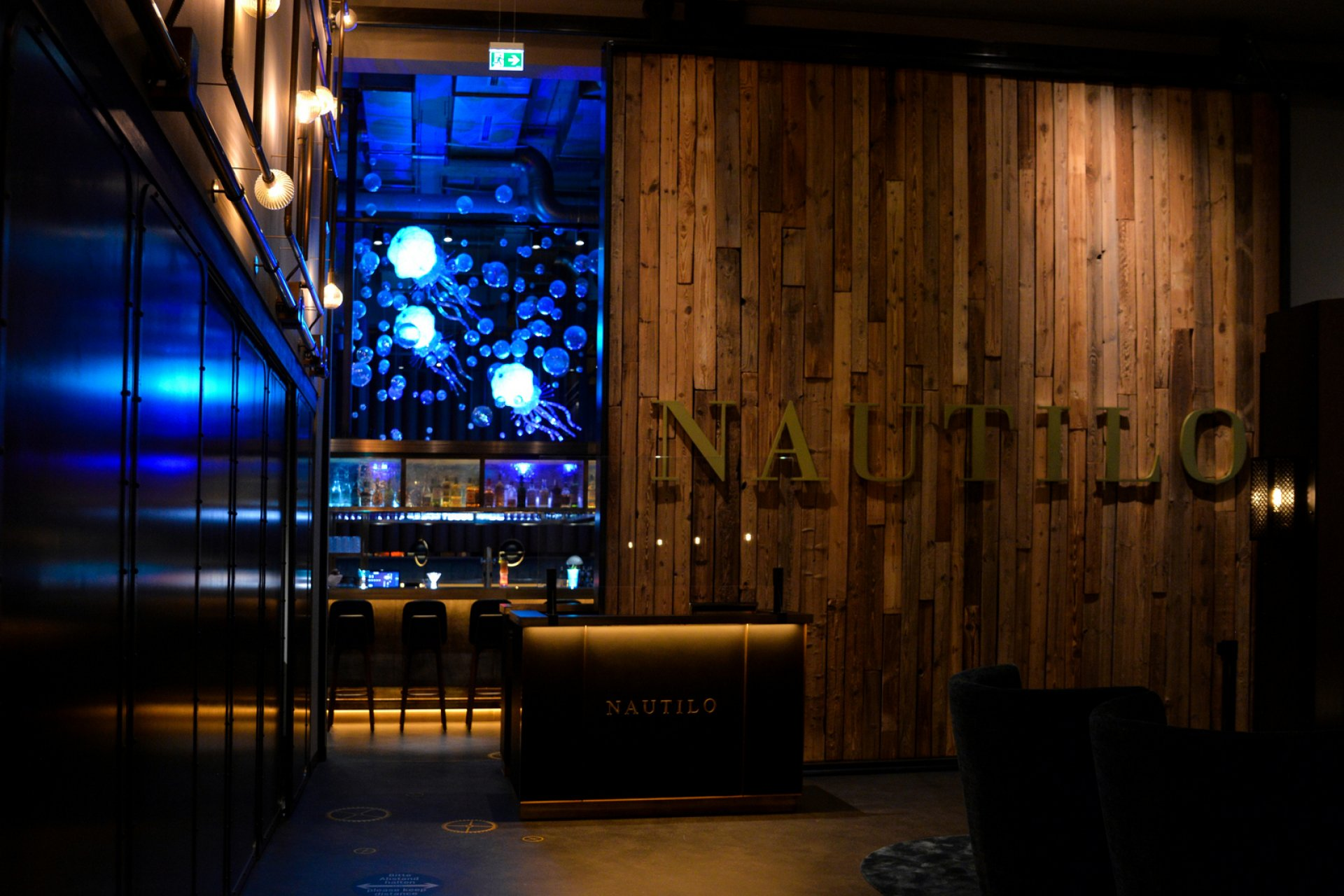 Nautilo restaurant with international specialties